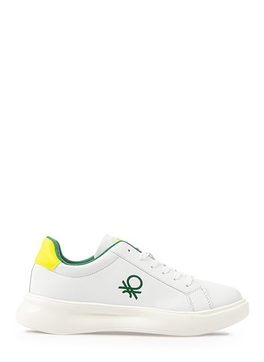 Benetton Bn30170 Erkek Spor Ayakkabı Beyaz
